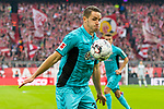 03.11.2018, Allianz Arena, Muenchen, GER, 1.FBL,  FC Bayern Muenchen vs. SC Freiburg, DFL regulations prohibit any use of photographs as image sequences and/or quasi-video, im Bild Christian Guenter (Freiburg #30) <br /> <br />  Foto © nordphoto / Straubmeier