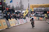 victory for CX World Champion Sanne Cant (BEL/Iko-Beobank)<br /> <br /> Women's Race<br /> Superprestige Zonhoven (BEL) 2018