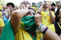 02.07.2018 - Torcida do Brasil no Fifa Fan Fest em SP