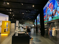 Ausstellung des Deutschen Fußballmuseum in Dortmund  - 08.02.2019: Deutsches Fußballmuseum in Dortmund<br /> DISCLAIMER: DFL regulations prohibit any use of photographs as image sequences and/or quasi-video.