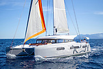 Excess catamaran 15.<br /> Excess world and explore perfectly designed catamarans inspired by racing for cruising pleasure.<br /> The construction of CNB yachts is based on the incorporation of all the know-how within their boatbuilding yard located in Bordeaux on an outstanding site. From design to launch, the teams work with a constant concern for a job well done. Whether it is a sailing yacht or a motor-yacht, a one-off or a semi-custom, they adopt only seaworthy, durable and functional solutions. Elegance then results from the sum of a multitude of details. Sometimes imperceptible individually, their amalgamation forms a coherent and harmonious whole. They make CNB yacht builders a unique provenance.