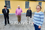 Launching the Blacksmith Festival in Ballylongford, which is going ahead on 25th and 26th of September, l to r: Helen Lane, Joe Diggin, John Fitzel and Mike Finucane.