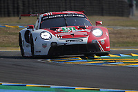 #91 PORSCHE GT TEAM (DEU) PORSCHE 911 RSR 19 LM GTE PRO  GIANMARIA BRUNI (ITA) RICHARD LIETZ (AUT) FREDERIC MAKOWIECKI (FRA)