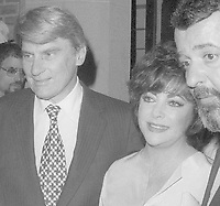 John Warner Elizabeth Taylor 1981<br /> Photo By John Barrett/PHOTOlink
