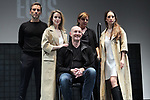 Gonzalo de Santiago (l), Nur Levi, Livija Pandur, Felype de Lima and Silvia Abascal on stage during the performance of the play Ecos on November 14, 2019 in Madrid, Spain.(ALTERPHOTOS/ItahisaHernandez)