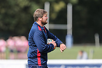 Nic Rouse of London Scottish (Head Coach) during the Greene King IPA Championship match between London Scottish Football Club and Ealing Trailfinders at Richmond Athletic Ground, Richmond, United Kingdom on 8 September 2018. Photo by David Horn.