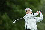 Hae Rym Kim of South Korea tees off during Round 1 of the World Ladies Championship 2016 on 10 March 2016 at Mission Hills Olazabal Golf Course in Dongguan, China. Photo by Victor Fraile / Power Sport Images
