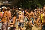 People at the Oregon Country Fair, Veneta, Oregon