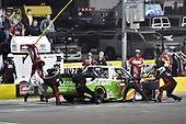 #17: Ryan Reed, DGR-Crosley, Toyota Tundra Dexcom, makes a pit stop