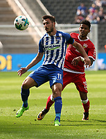 Mathew Leckie, Ailton /   / general viel, Spielszene  /      <br /> / Sport / Football Football / DFL 1. Bundesliga Bundesliga  /  2017/2018 / 19.08.2017 / Hertha BSC Berlin vs. VfB Stuttgart 170819004 /  *** Local Caption *** © pixathlon<br /> Contact: +49-40-22 63 02 60 , info@pixathlon.de