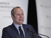 Michel Leblanc<br /> , Chambre de Commerce du Montreal Metropolitain, 2016<br /> <br /> <br /> PHOTO : Agence Quebec Presse