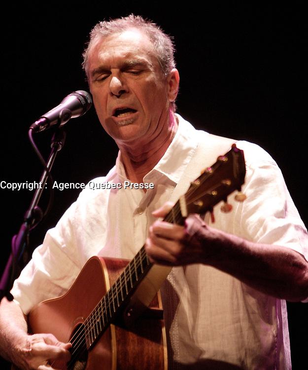 Zachary Richard<br /> , juillet  2009<br /> <br /> PHOTO :  Agence Quebec Presse