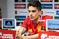 Spainsh Marc Bartra during the press conference at Nuevo Los Carmenes Stadium in Granada, Spain. November 11, 2016. (ALTERPHOTOS/Rodrigo Jimenez) //NORTEPHOTO.COM