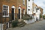 Upnor Kent UK. The High Street. Medway Village.