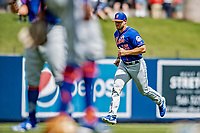 7 March 2019: New York Mets designated hitter Tim Tebow hustles to the dugout prior to a Spring Training Game against the Washington Nationals at the Ballpark of the Palm Beaches in West Palm Beach, Florida. The Nationals defeated the visiting Mets 6-4 in Grapefruit League, pre-season play. Mandatory Credit: Ed Wolfstein Photo *** RAW (NEF) Image File Available ***