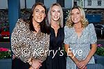 Enjoying the evening in the Ashe Hotel on Saturday, l to r: Tara O'Sullivan, Charmaine Lawlor and Tara Flynn.
