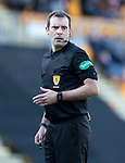 St Johnstone v Hamilton Accies…26.10.19   McDiarmid Park   SPFL<br />Referee Alan Muir<br />Picture by Graeme Hart.<br />Copyright Perthshire Picture Agency<br />Tel: 01738 623350  Mobile: 07990 594431