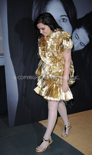 WWW.ACEPIXS.COM . . . . . ....June 1 2010, New York City....Singer Bjork arriving at the closing of Marina Abramovic's 'The Artist is Present' hosted by Givenchy at The Museum of Modern Art on June 1, 2010 in New York City.....Please byline: KRISTIN CALLAHAN - ACEPIXS.COM.. . . . . . ..Ace Pictures, Inc:  ..tel: (212) 243 8787 or (646) 769 0430..e-mail: info@acepixs.com..web: http://www.acepixs.com