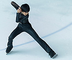 Shunsuke Nakamura of Japan warms up during a training section ahead Asian Open Figure Skating Trophy 2017 at Mega Ice on 02 August, 2017 in Hong Kong, China. Photo by Yu Chun Christopher Wong / Power Sport Images