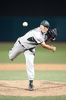 Lenny Linsky #34 of the Hawaii Rainbows plays against the San Jose State Spartans in the Western Athletic Conference post-season tournament at Hohokam Stadium on May 26, 2011 in Mesa, Arizona. Linsky pitched the 9th inning for the save to preserve a 2-1 victory for the Rainbows..Photo by:  Bill Mitchell/Four Seam Images.
