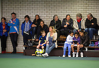 Rotterdam, The Netherlands, 15.03.2014. NOJK 14 and 18 years ,National Indoor Juniors Championships of 2014, fans<br /> Photo:Tennisimages/Henk Koster