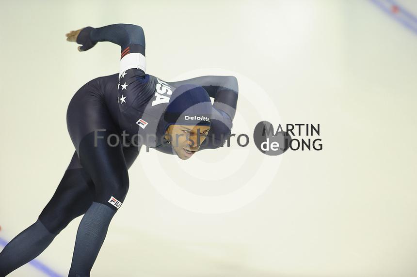 SPEEDSKATING: CALGARY: Olympic Oval, 03-12-2017, ISU World Cup, 1500m Men, Division A, Shani Davis (USA), ©photo Martin de Jong