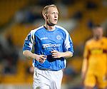 St Johnstone v Motherwell...03.11.12      SPL.Steven Anderson.Picture by Graeme Hart..Copyright Perthshire Picture Agency.Tel: 01738 623350  Mobile: 07990 594431