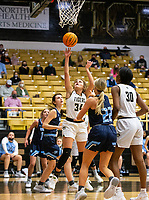 Maryam Dauda  (30) of Bentonville goes up for basket at Tiger Arena, Bentonville, AR January 5, 2021 / Special to NWA Democrat-Gazette/ David Beach