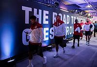 Orlando, FL - Friday Oct. 06, 2017: DeAndre Yedkin, Bobby Wood, DaMarcus Beasley, Tim Howard, Nick Rimando, Brad Guzan during a 2018 FIFA World Cup Qualifier between the men's national teams of the United States (USA) and Panama (PAN) at Orlando City Stadium.