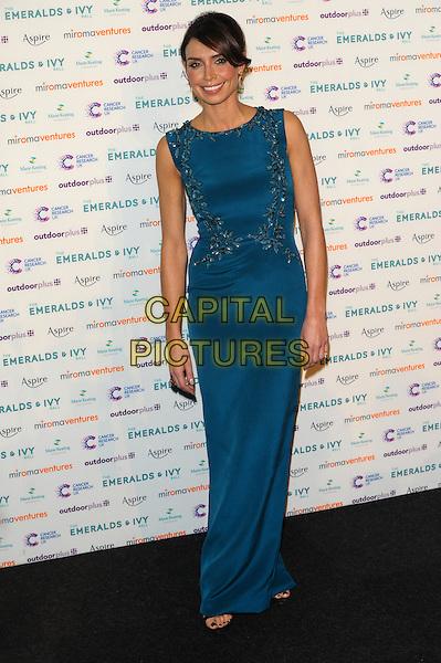 LONDON, UK, NOVEMBER 30: Christine Bleakley at the Emeralds And Ivy Ball, Old Billingsgate Market on November 30th, 2013 in London, England.<br /> CAP/CJ<br /> ©Chris Joseph/Capital Pictures