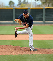 Adam Scott - Cleveland Indians 2020 spring training (Bill Mitchell)
