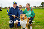 Attending the Dog show at the Churchill Heritage Week festivities in Churchill on Sunday, l to r: Johnny, Cara and Kathleen Burrows from Tralee with Luna the collie.