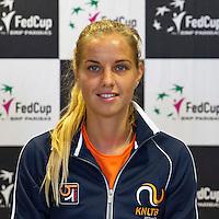April 15, 2015, Netherlands, Den Bosch, Maaspoort, Fedcup Netherlands-Australia,   Arantxa Rus (NED)<br /> Photo: Tennisimages/Henk Koster