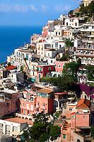 The fashionable  resort of Positano, Amalfi coast, Italy