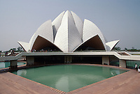 Tempel der Bahai, Delhi, Indien