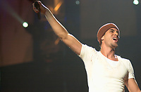 """Sept 3, 2002, Montreal, Quebec, Canada; <br /> <br /> ENRIQUE IGLESIAS on stage at the Molson Centre, Sept 3, 2002 during  the<br />  """"DON'T TURN OFF THE LIGHTS TOUR"""""""