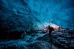 Photographer Art Wolfe, Jökulsárlón, Iceland