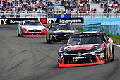 NASCAR XFINITY Series<br /> Zippo 200 at The Glen<br /> Watkins Glen International, Watkins Glen, NY USA<br /> Saturday 5 August 2017<br /> Kyle Busch, NOS Rowdy Toyota Camry, Harrison Rhodes, teamjdmotorsports.com Chevrolet Camaro, Brad Keselowski, REV/Fleetwood Ford Mustang<br /> World Copyright: John K Harrelson<br /> LAT Images