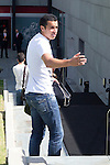 01.06.2012. Arrival of the players in the Spanish football team squad for the European Championship in Poland and Ukraine to the Ciudad del Futbol of Las Rozas, Madrid. In the image Pedro Rodriguez.(Alterphotos/Marta Gonzalez)