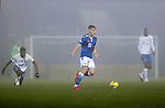 St Johnstone v Kilmarnock…06.11.20   McDiarmid Park SPFL<br />Ali McCann on a foggy eveing at McDiarmid Park<br />Picture by Graeme Hart.<br />Copyright Perthshire Picture Agency<br />Tel: 01738 623350  Mobile: 07990 594431
