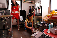 Yvonne Lo, founder of Diva Life 266 Ruijin 2nd Road, Shanghai China, Mobile 138 1611 99833, email yvonne.lo@mydivalife.com.  Yvonne's father escaped China in 1949 with his family and two of his sibs died in the crossing (there were ten the father had multiple wives).  Yvonne's family is typical of the Chinese who were smart enough to get out when it was bad and smart enough to get back in 10 years ago when things were improving.  Diva Life is set up for two types of clients the ex pat tai tai wives of diplomats and then the wannabe chinese that follow that crowd into Yvonne's spa.  Yvonne has the Diva life... she designs her own furniture, spa, clothes, etc... She spends the morning at the Fabric market, meeting her tailor and then goes to the office, but the main reason she started the spa is so that she can have a couple hours of treatment any day she likes.