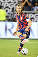 KANSAS CITY, KS - JULY 15: Walker Zimmerman #5 of the United States passes the ball during a game between Martinique and USMNT at Children's Mercy Park on July 15, 2021 in Kansas City, Kansas.