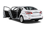 Car images of2014 Nissan Sentra SV 4 Door Sedan Doors