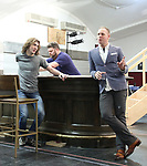 """Conor Ryan, Daniel Stewart Sherman and John Sanders during the Sneak Peak presentation of the World Premiere production of """"My Very Own British Invasion"""" on January 16, 2019 at the Church of Saint Paul The Apostle in New York City."""