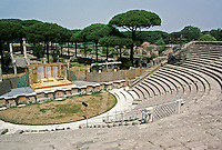 Italy: Ostia--The Theatre. Photo '83.