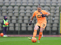goalkeeper Justien Odeurs (13) of Anderlecht in action during a female soccer game between RSC Anderlecht Dames and Oud Heverlee Leuven on the seventh matchday of play off 1 of the 2020 - 2021 season of Belgian Womens Super League , saturday 15 th of May 2021  in Brussels , Belgium . PHOTO SPORTPIX.BE | SPP | SEVIL OKTEM