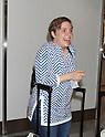 Lena Dunham arrives in Japan