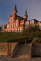 Europe/France/Picardie/80/Somme/Baie de Somme/ le Crotoy:Hôtel-Restaurant: Les Tourelles