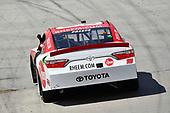 #18: Ryan Preece, Joe Gibbs Racing, Toyota Camry Rheem celebrates his win