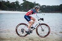 US National Champion Clara Honsinger (USA/Cannondale Cyclocrossworld)<br /> <br /> Women's elite Race <br /> Zilvermeercross Mol (BEL) 2021<br /> <br /> ©Kramon